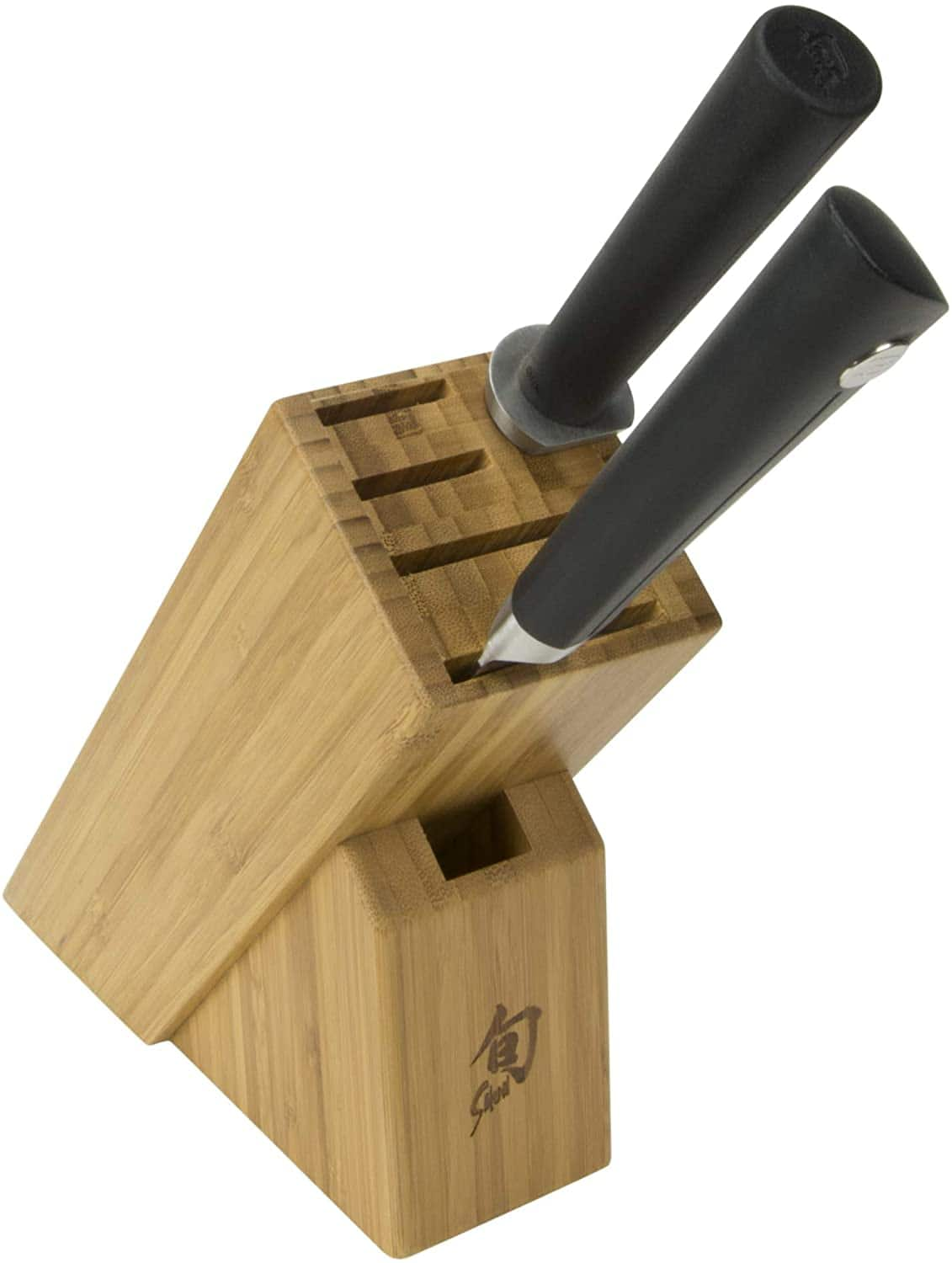 Shun Sora 3-Piece Build-A-Block Set Includes 8-Inch Chef's Knife, Combination Honing Steel and 6-Slot Slimline Block ($111.95)