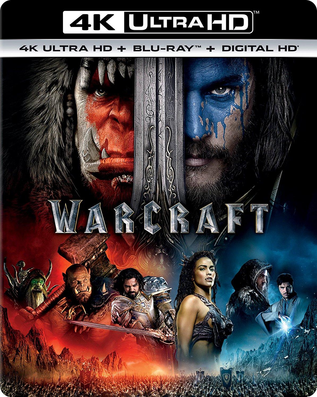 Warcraft Movie 4K UHD  w/ Free Shipping $9.99
