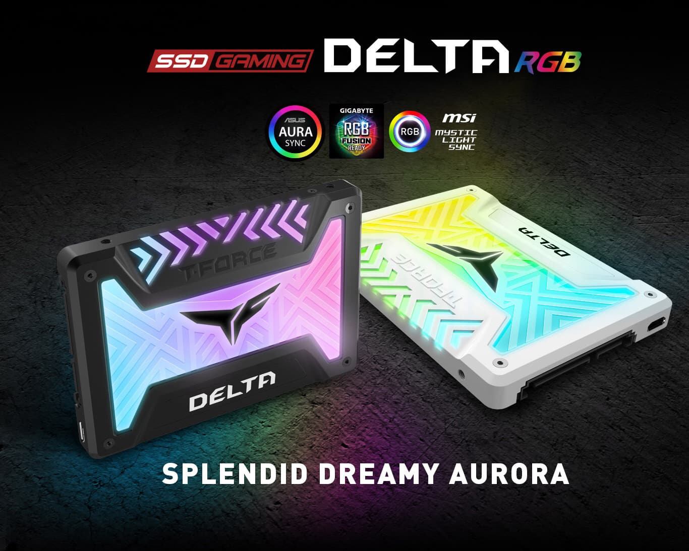 Team Group T-FORCE DELTA R RGB SSD  1TB SATA III $118.61