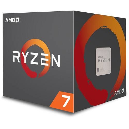 AMD Ryzen 7 2700X 3.7GHz 8 Core AM4 Boxed Processor with Wraith Prism Cooler $149.99