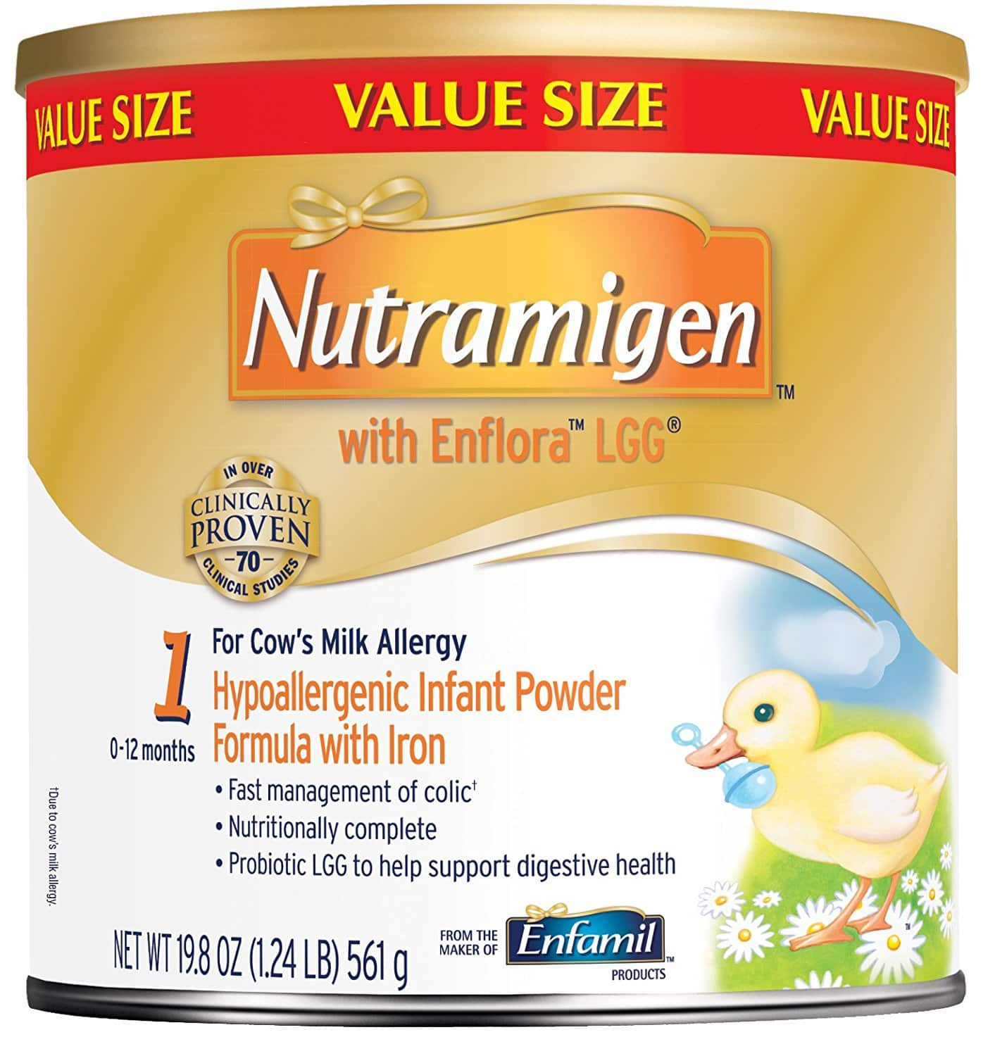 Prime Members Nutramigen With Enflora Lgg Baby Formula 19 8 Oz Powder Can Pack