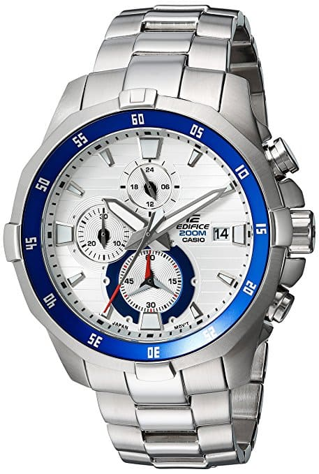 Casio Men's 'EDIFICE' Quartz Stainless Steel Casual Watch EFM-502D-7AVCF $80.97@amazon