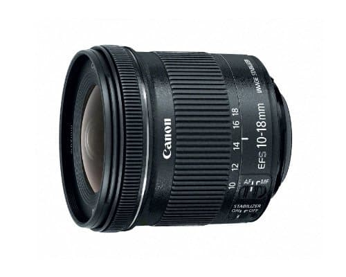 Canon EF-S 10-18mm f/4.5-5.6 IS STM Lens Wide Angle $199 Amazon via Prime - Best price ever
