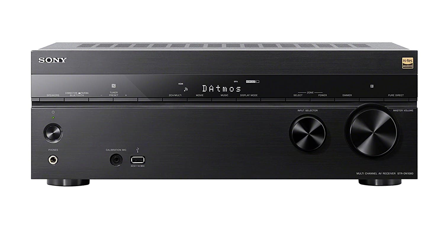 Sony STRDN1080 A/V Receiver - 7.2 Dolby Atmos; Wi-Fi and Bluetooth; Google Cast | New for $473