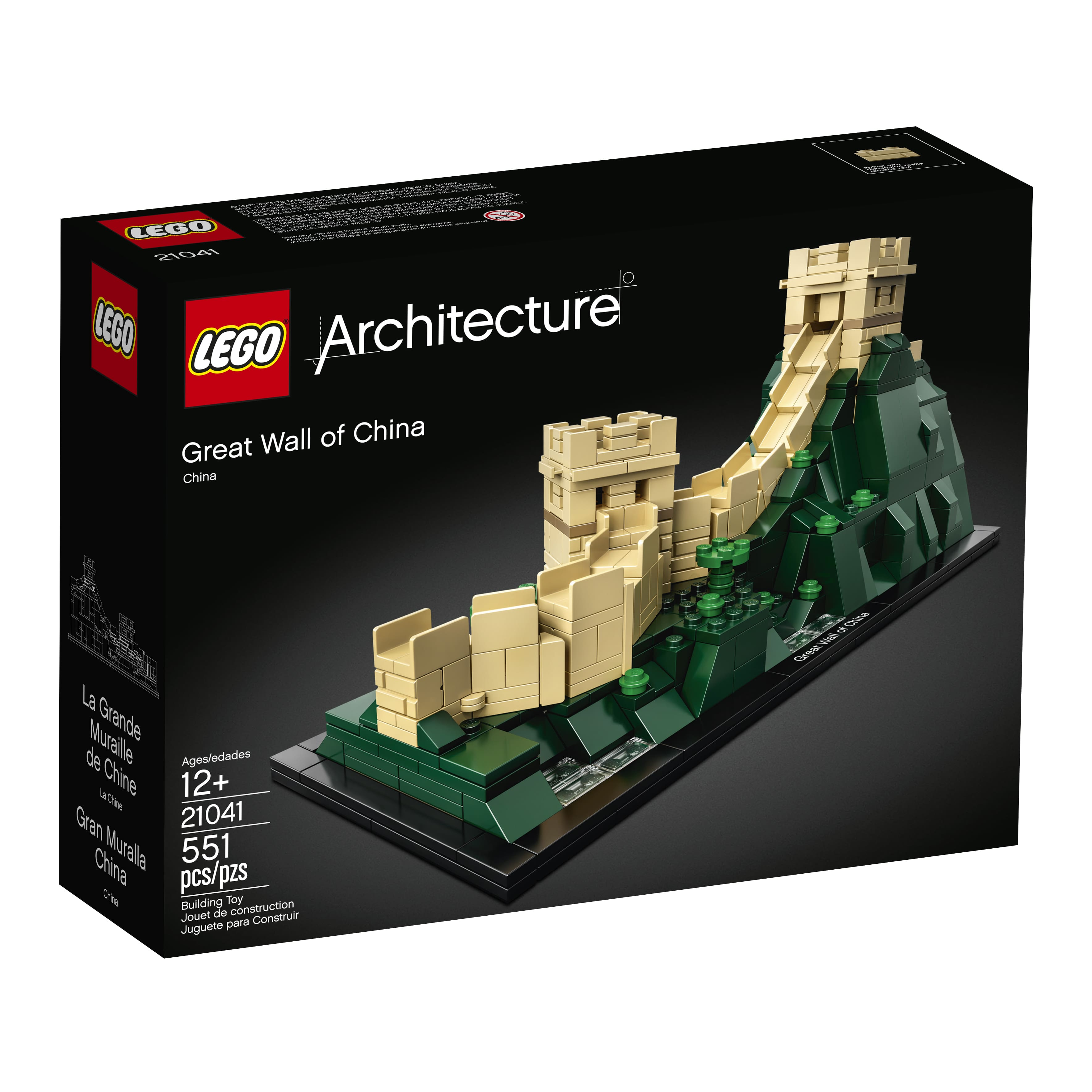 LEGO Architecture The Great Wall of China 21041 $29.99