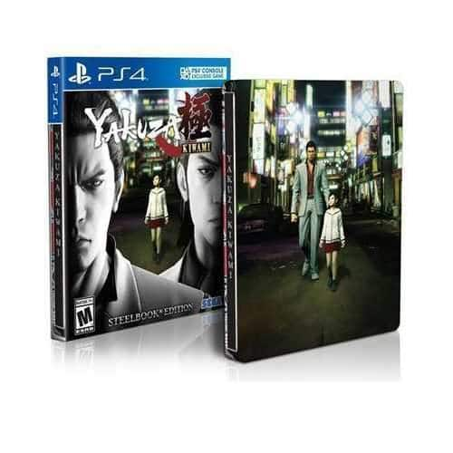 YMMV Yakuza Kiwami PS4 Steelbook Edition $8.98 Target clearance