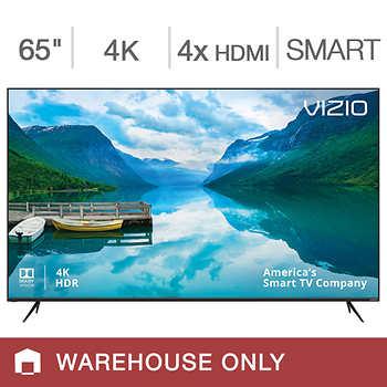 "Costco Members B&M: VIZIO M-Series 65"" Class 4K Ultra HD HDR Smart LED LCD TV M65-F0 YMMV $749.97"