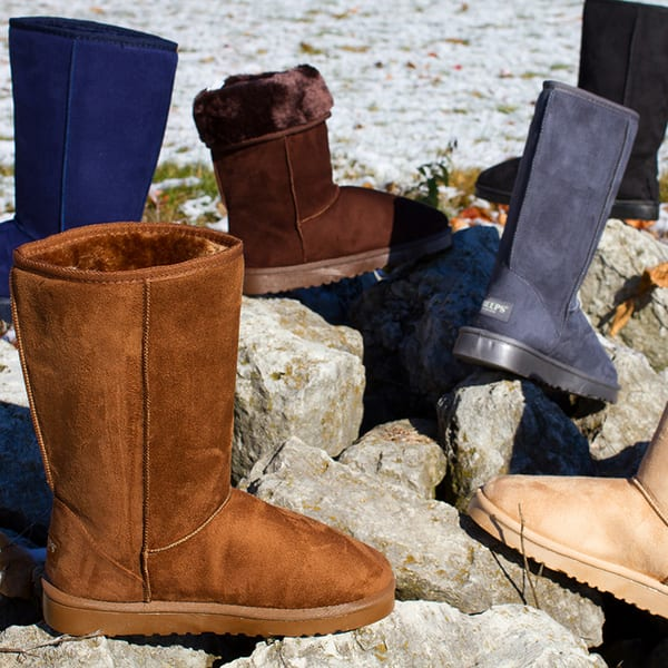 "Luxury Sheeps Australia Classic 12"" Tall Boots for $14.99"