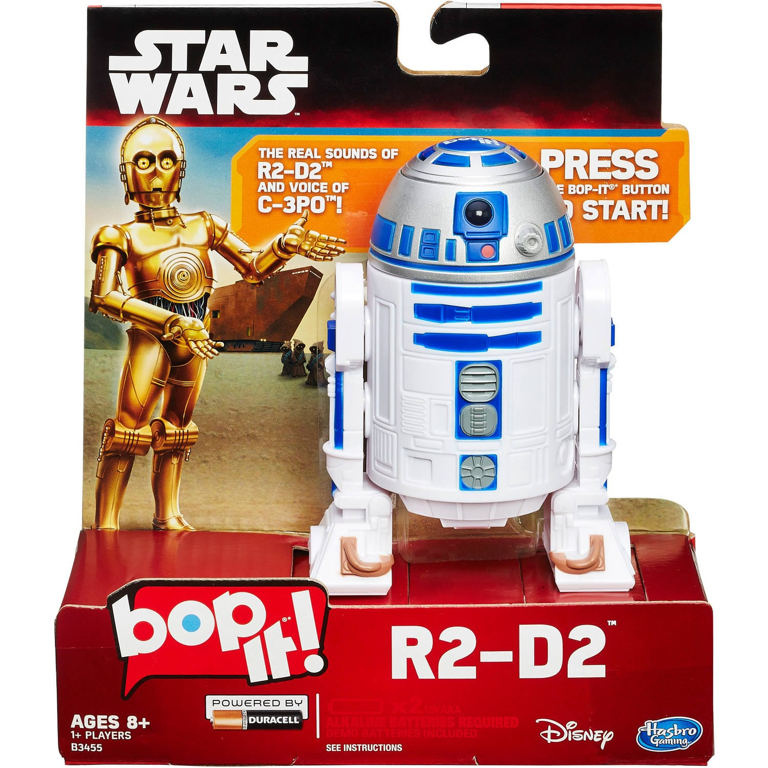Amazon Prime: Hasbro Star Wars Bop It R2-D2 Game for $9 (or even less, YMMV)