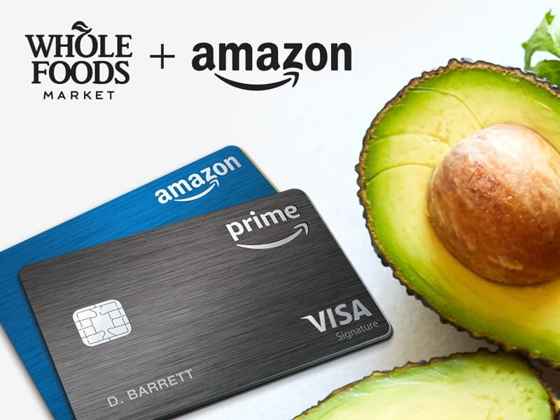 10% Cash Back for Whole Foods purchases from 12/17-12/24 (Amazon Rewards Visa Cardmembers)