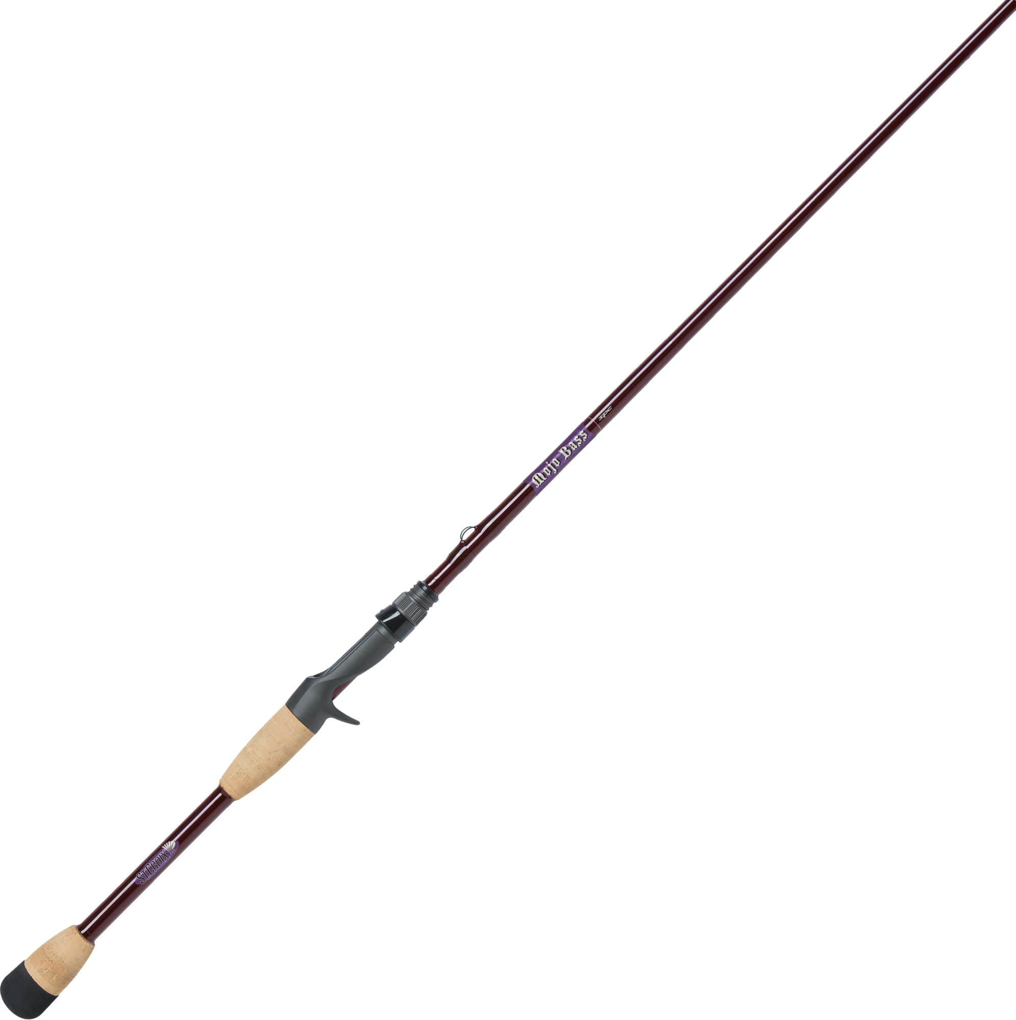 St Croix Mojo Bass Casting Fishing Rod $97.49 in store only