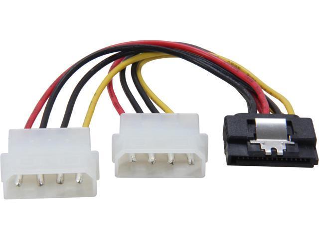 Coboc SATA to 2x Molex Y-Splitter Converter Cable - Free after Rebate