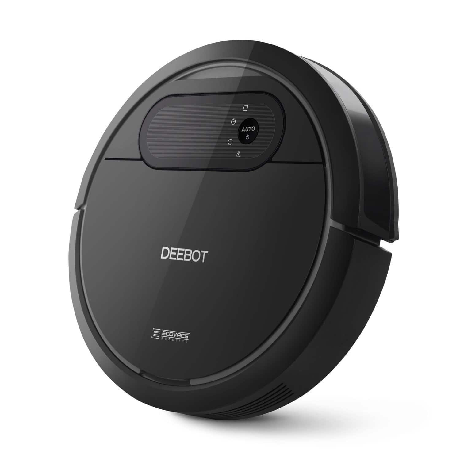 ECOVACS robotic vacuum cleaner $129.59 @ Amazon