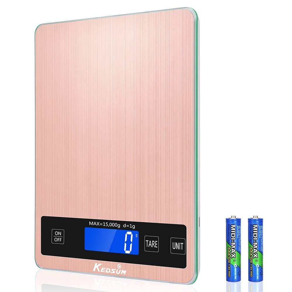 Digital Kitchen Food Scale $7.50 FS w/ Prime
