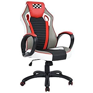 leather office and pc gaming chair for 60 amazon slickdeals net