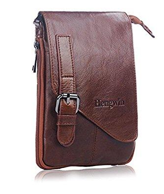 Women/Men Vegan Leather Small Backpacks/Holster/Messenger Bag $8.99 & More @ Amazon