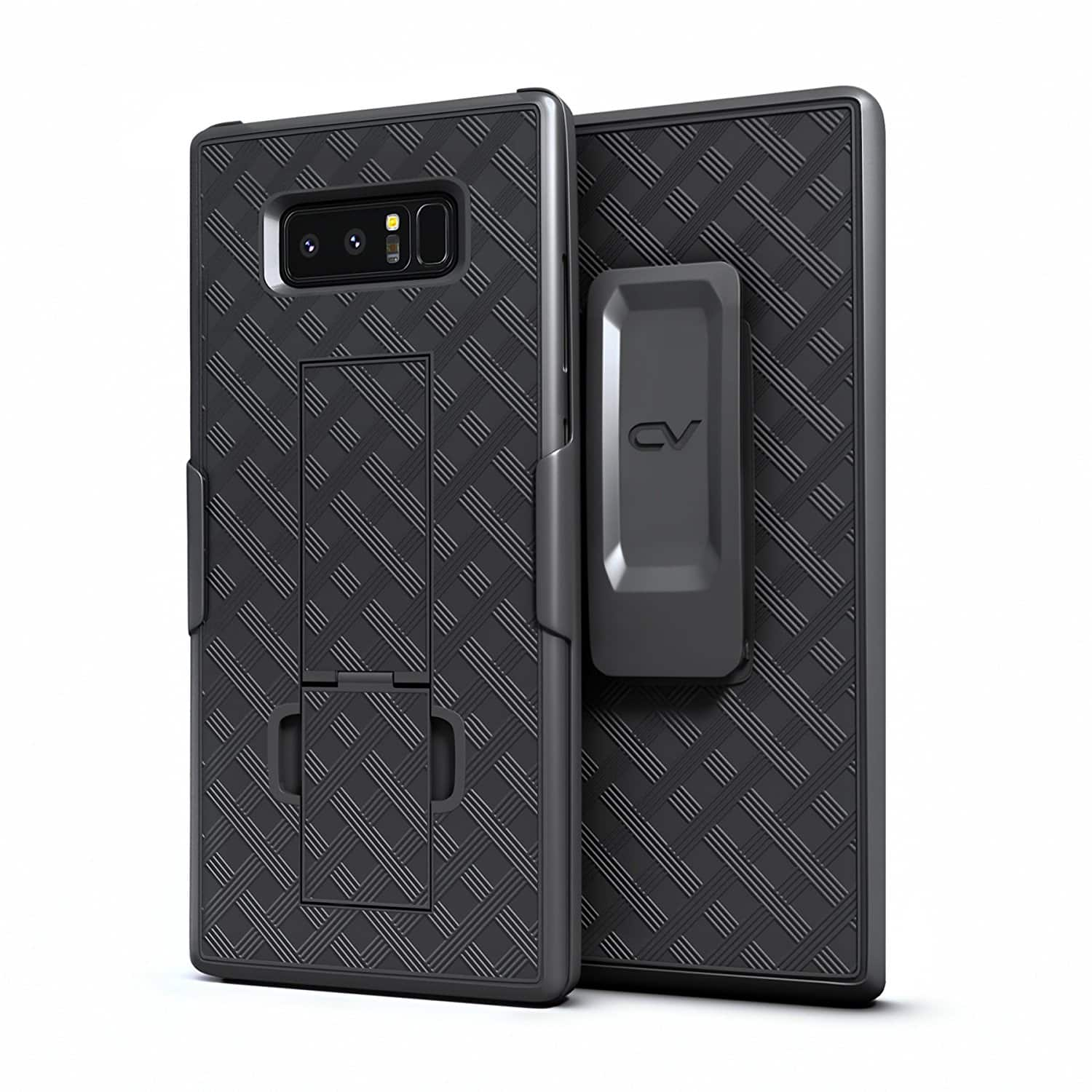 Samsung Galaxy Note 8 Case Case Built in Kickstand with Rotating Holster Belt  for $ 3.30 AC+FS With Prime @ Amazon