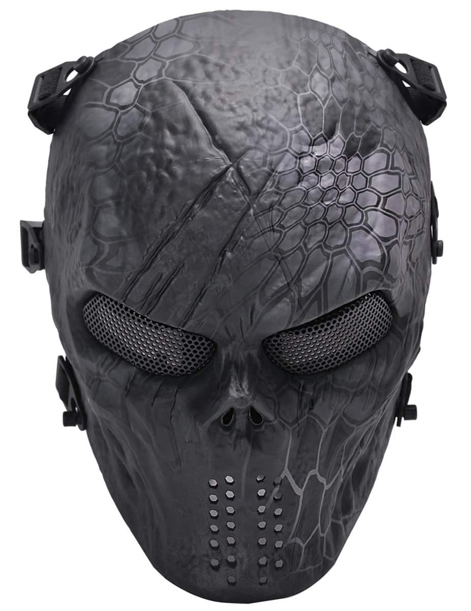 Airsoft full face mask for $5.99 @ Amazon