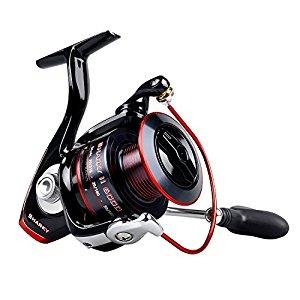 Shark II Fishing Reel - Smooth Spinning Reel - 48.5 Lb Carbon Fiber Max Drag - 10+1 for $25.89-$44.09