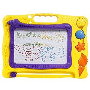 TONOR Non-toxic Fancy Magnetic Drawing Doodle Sketch Board for $11.19 AC @ Amazon