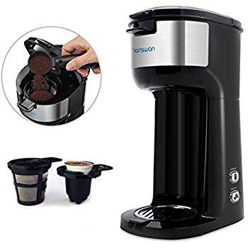 HAMSWAN CM-1177B Coffee Maker (Black) $47.99 A/C+FS @ Amazon
