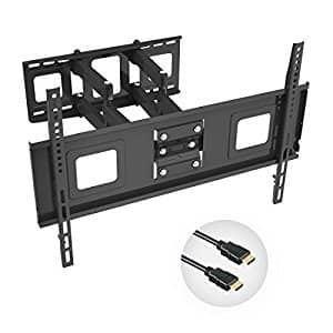 TV Wall Mount Bracket for 32-65 inch TV w/ HDMI cable for $40.99 AC @ Amazon