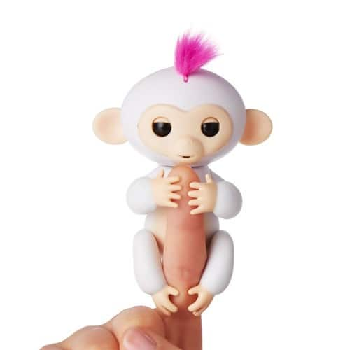 Fingerlings - Interactive Baby Monkey - Sophie (White with Pink Hair) By WowWee $14.99 ( Amazon)