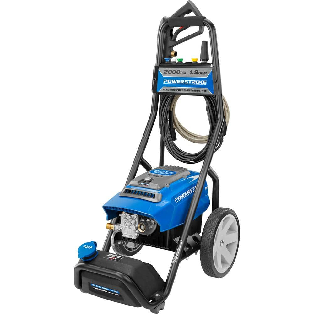 PowerStroke 2000 psi 1.2 GPM Electric Pressure Washer $109