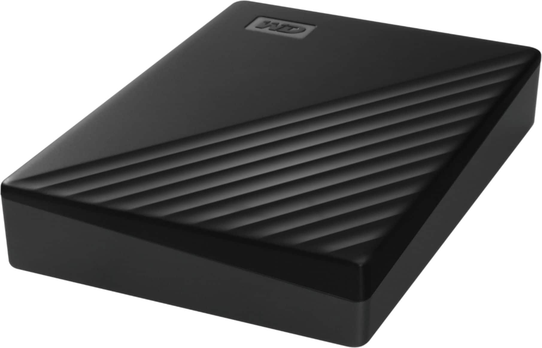 5TB WD My Passport External USB 3.2 Portable Hard Drive $101.99 + Free S/H + 2.5% Slickdeals Cashback - w/ Chromebook perks coupon; all others: YMMV