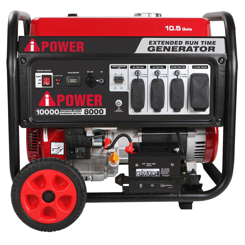 $599 - Sams Club - A-iPower Portable Generator 10,000 Watt Starting \ 8,000 Watt Running, Large Fuel Tank -  Sam's Membership Required, Free Shipping