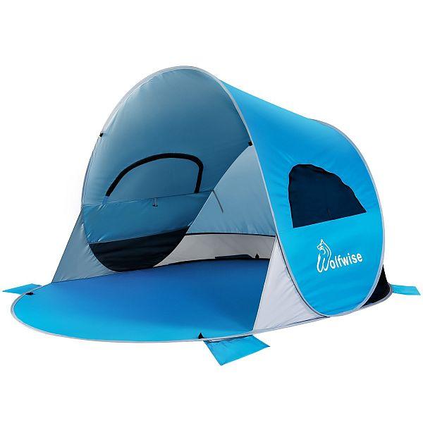 Amazon - WolfWise UPF 50+ Easy Pop Up Beach Tent/Canopy - $39.88 AC