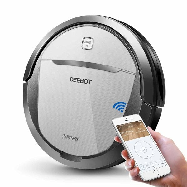 ECOVACS DEEBOT M80 Pro Robotic Vacuum Cleaner with Mop and Water Tank, for Hard Floor, Carpet, APP Control, Wi-Fi Connected - $178.48 AC