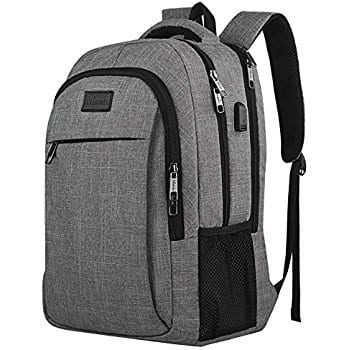 Travel Laptop Bag/School Backpack with Laptop Sleeve and USB Port - $21.99 AC + Free S/H