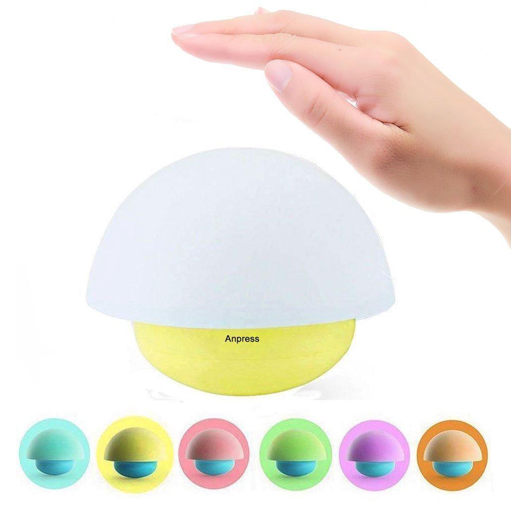 Mushroom Design Touch Sensor Dimmable LED light/nightlight - $6.2 AC