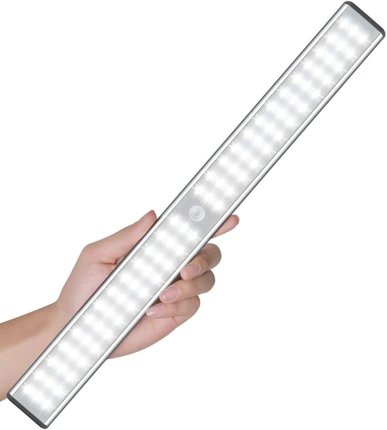 MOSTON Super Bright Rechargeable Closet Light 78LED - $19.75 AC