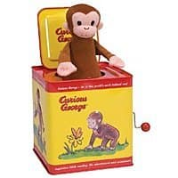 Amazon Deal: Curious George Jack in the Box - Amazon 12.99 - Free shipping with prime.  Lowest price per CCC