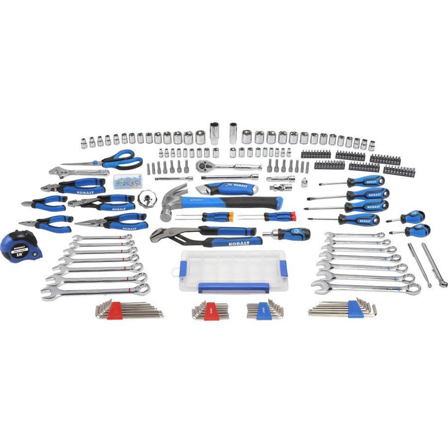 Kobalt 204-Piece Household Tool Set with Hard Case,  $24.75