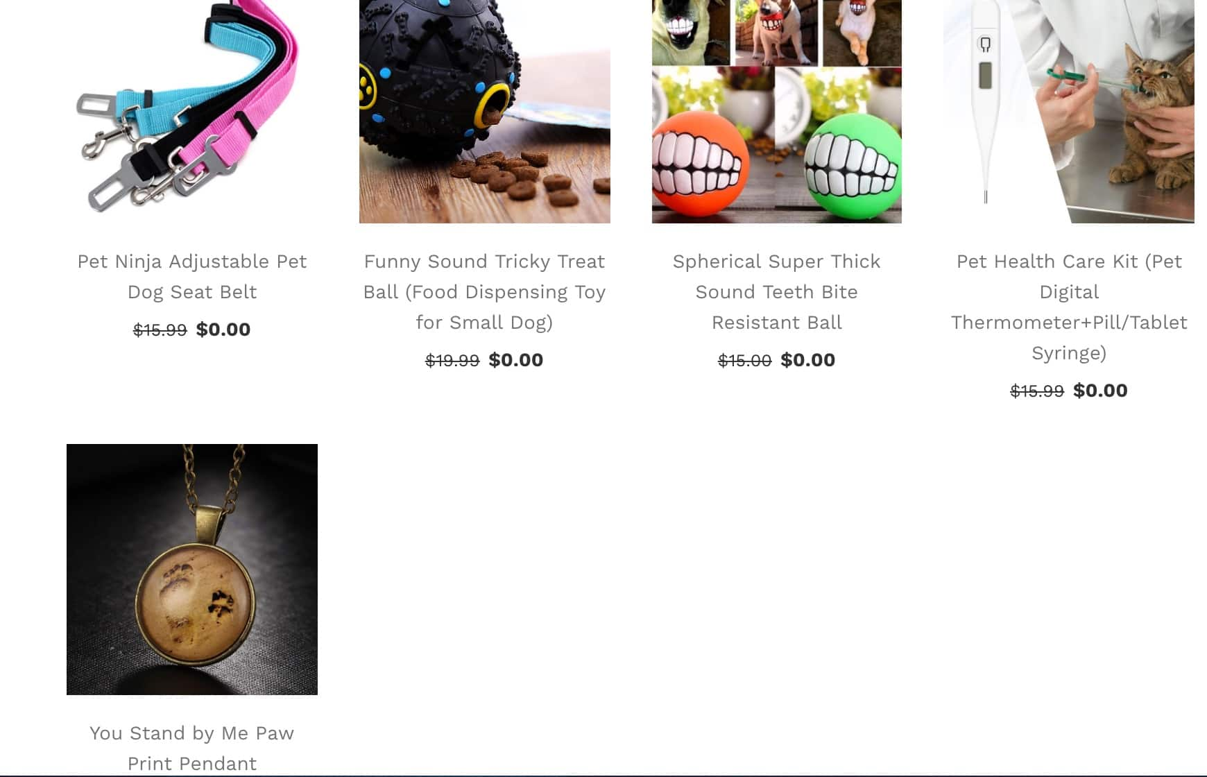 Choose 3 Free Pet Ninja Goods of the Week - Free Shipping on $15+ or $7.99 USPS Standard
