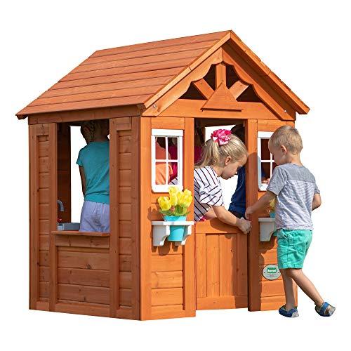 Backyard Discovery Timberlake Cedar Wooden Playhouse $50 ...