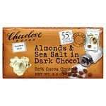 Chocolove Almonds & Sea Salt in Dark Chocolate, 6-pk @ Amazon for $9.44 (add-on item)