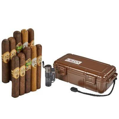 10 Oliva Cigars, Decent lighter, and Travel Case $29.95