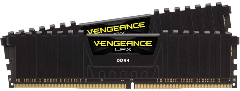 CORSAIR - Vengeance LPX 32GB (2PK x 16GB) 3.2 GHz DDR4 DRAM Desktop Memory Kit - Black $120