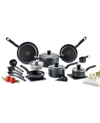 T-FAL Occasion 18 pc Macy's Set for $29.99