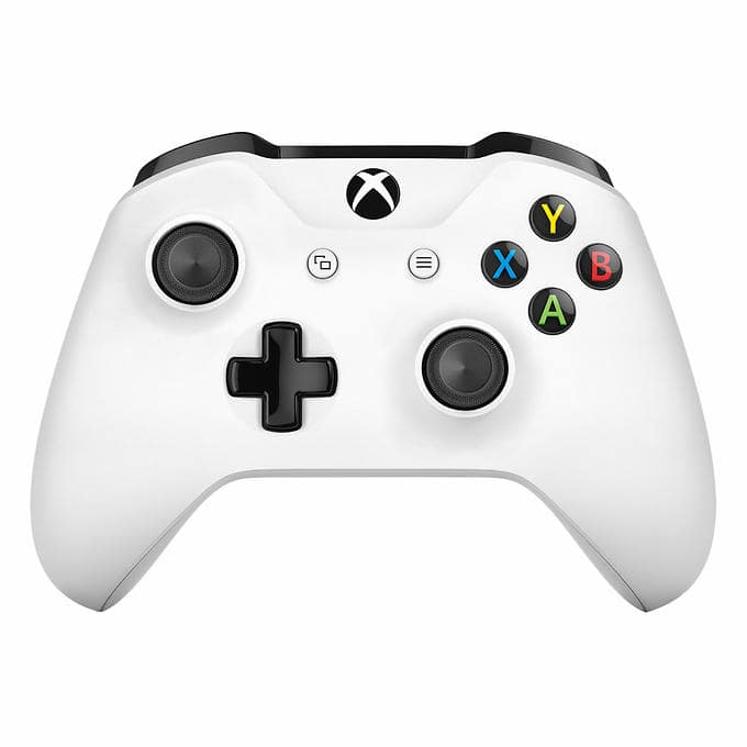 Xbox One S Wireless Controller (white) $39.99 + $3.99 shipping @ Costco.com (membership required)