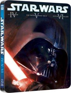 $17.99 Star wars: Original trilogy episodes IV-VI blu-ray steelbook set