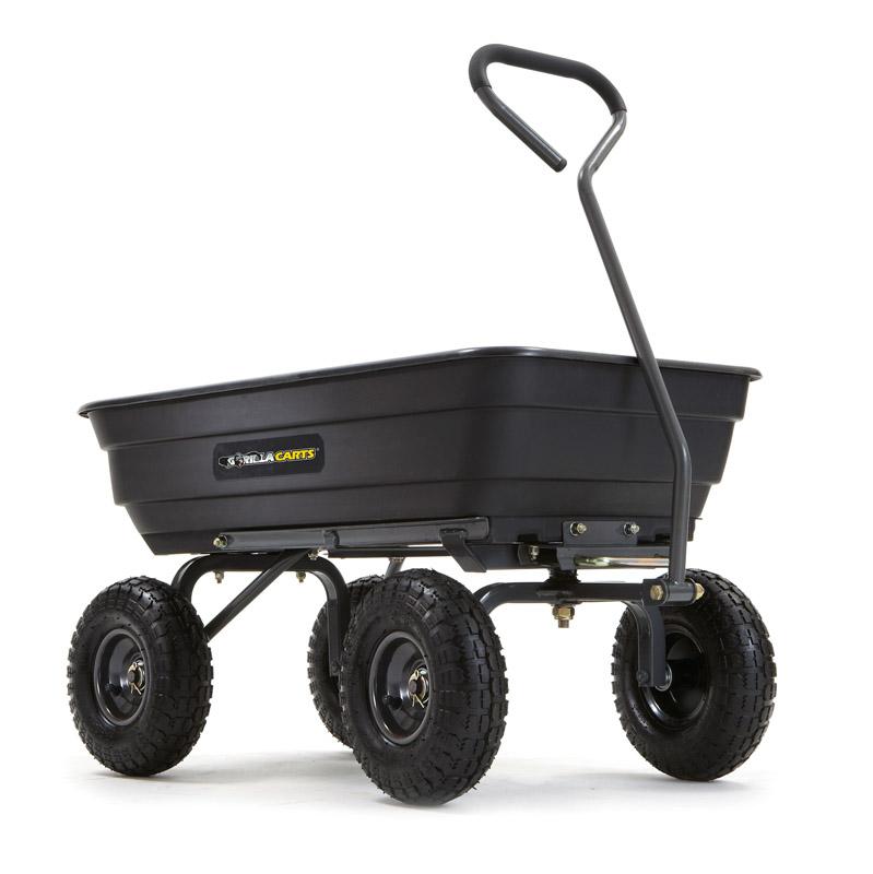 Gorilla Carts GOR4PS 600-lb. Dump Cart $50 Walmart BM YMMV