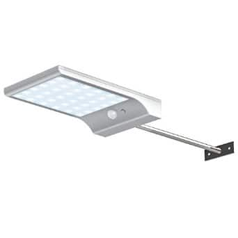 InnoGear Solar Gutter Lights with Mounting Pole Outdoor Motion Sensor Detector Light Wall Sconces LED Security Lighting for Barn Porch Garage for $17.59 with coupon; FS with Prime