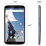 Nexus 6 Midnight Blue $550/32gb or $599/64gb from T-mobile (Unlocked)