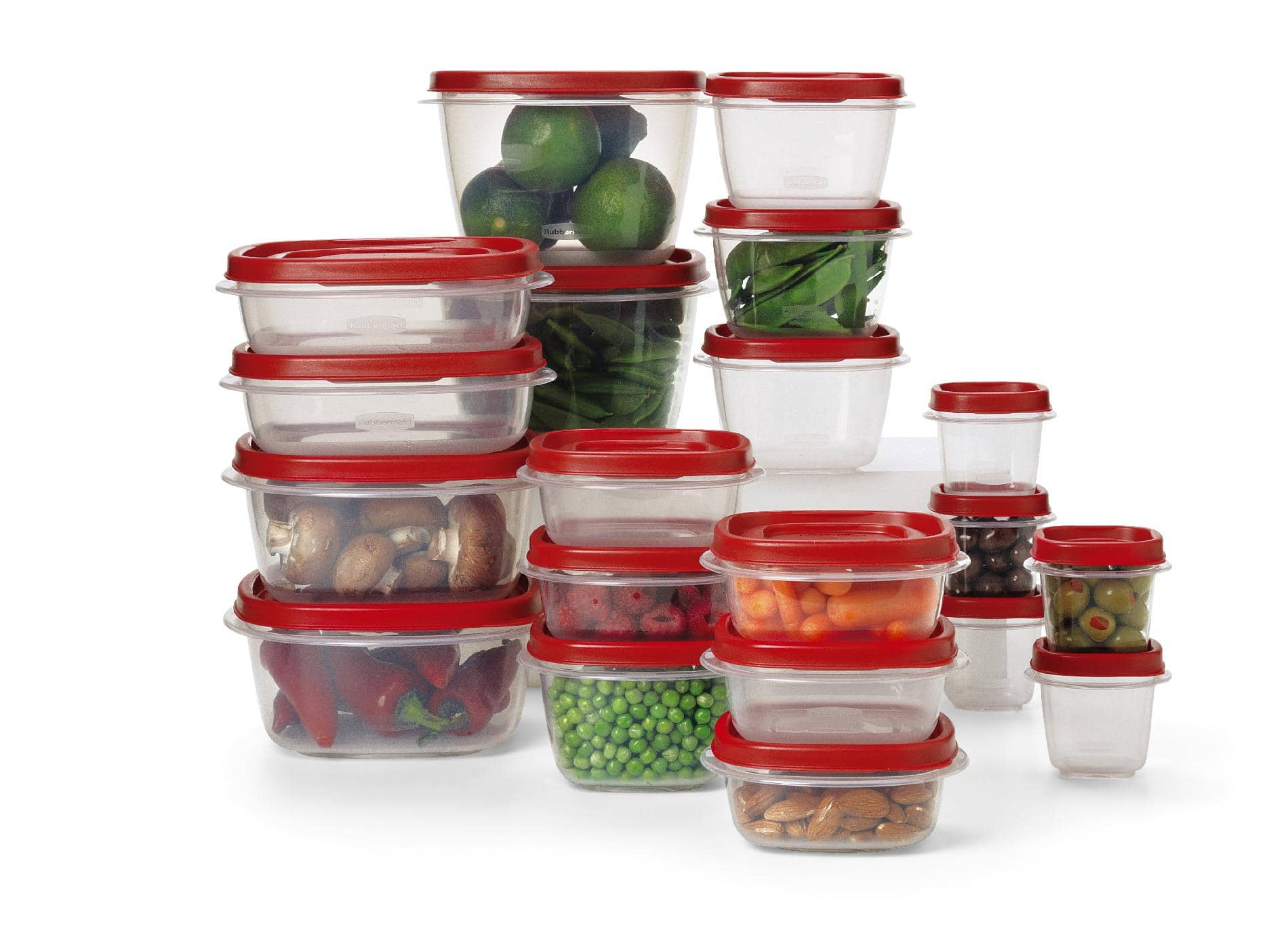Kmart - Rubbermaid 40-Piece Food Storage Set - $7.50 - Online only price ($2.50 lesser than Doorbuster price)