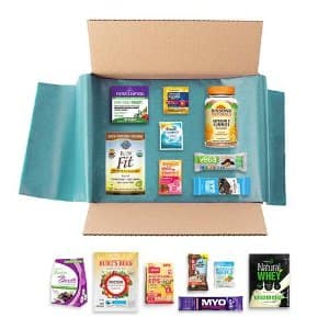 New Year New You Sample Box @amazon prime, $14.99 future credit on Nutrition & Wellness items